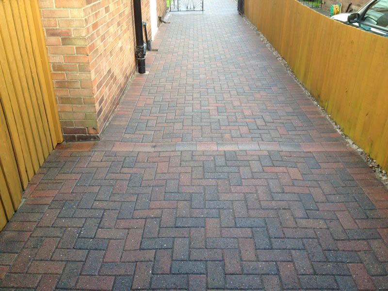 Path cleaning Selby