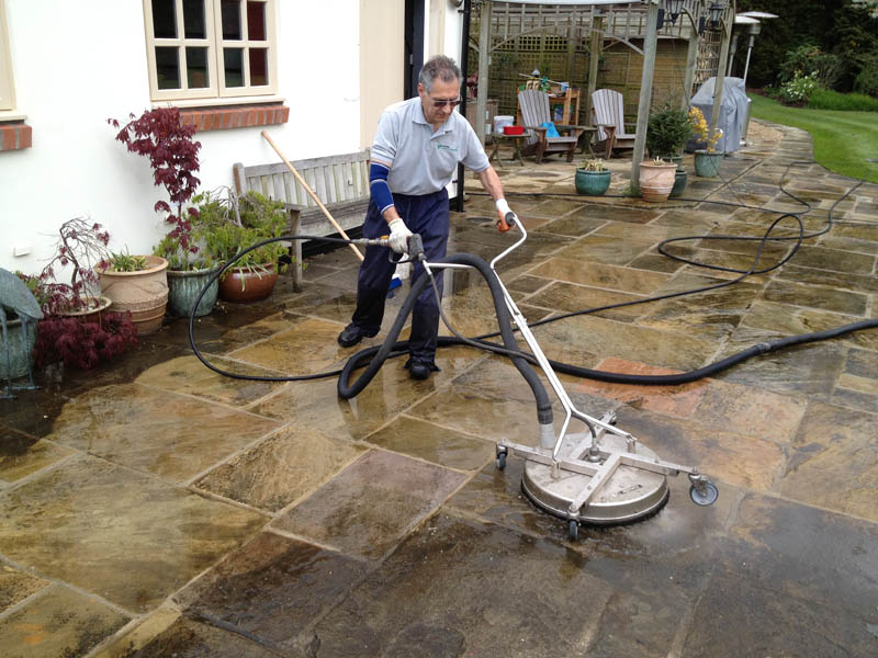 Paving cleaners in Pontefract