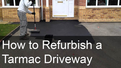 How to Refurbish a Tarmac Driveway